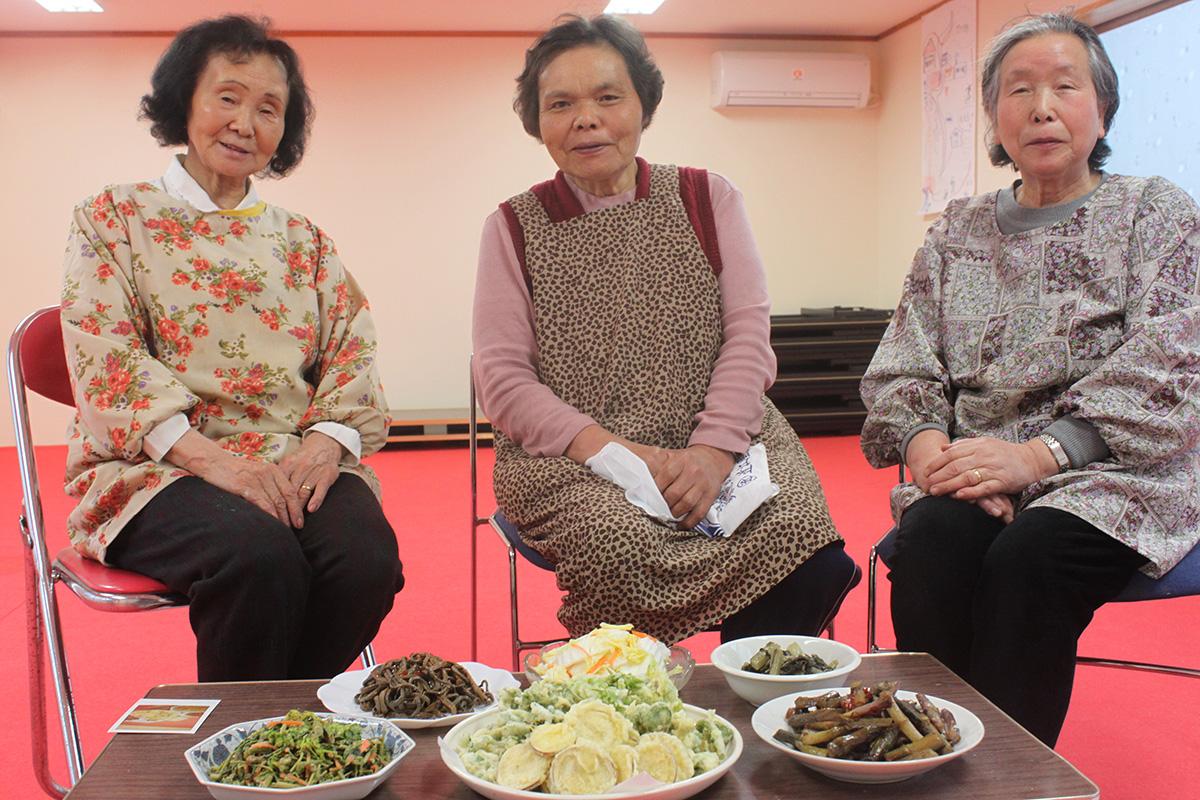 池谷集落の郷土料理とお母さん