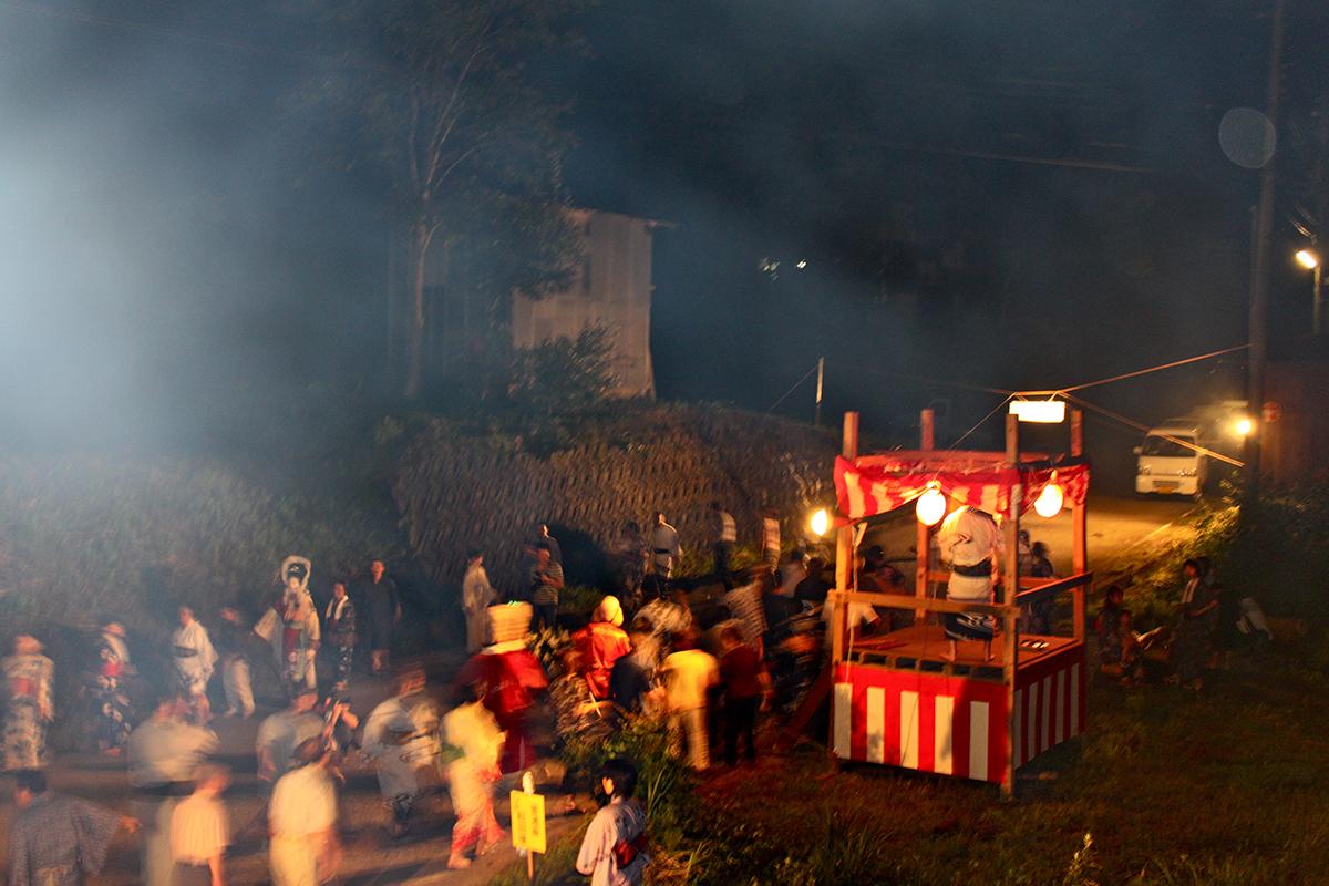 池谷集落の盆踊り