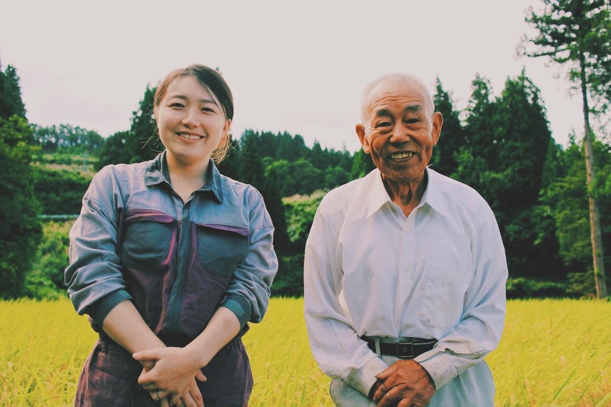 移住女子と農家の師匠