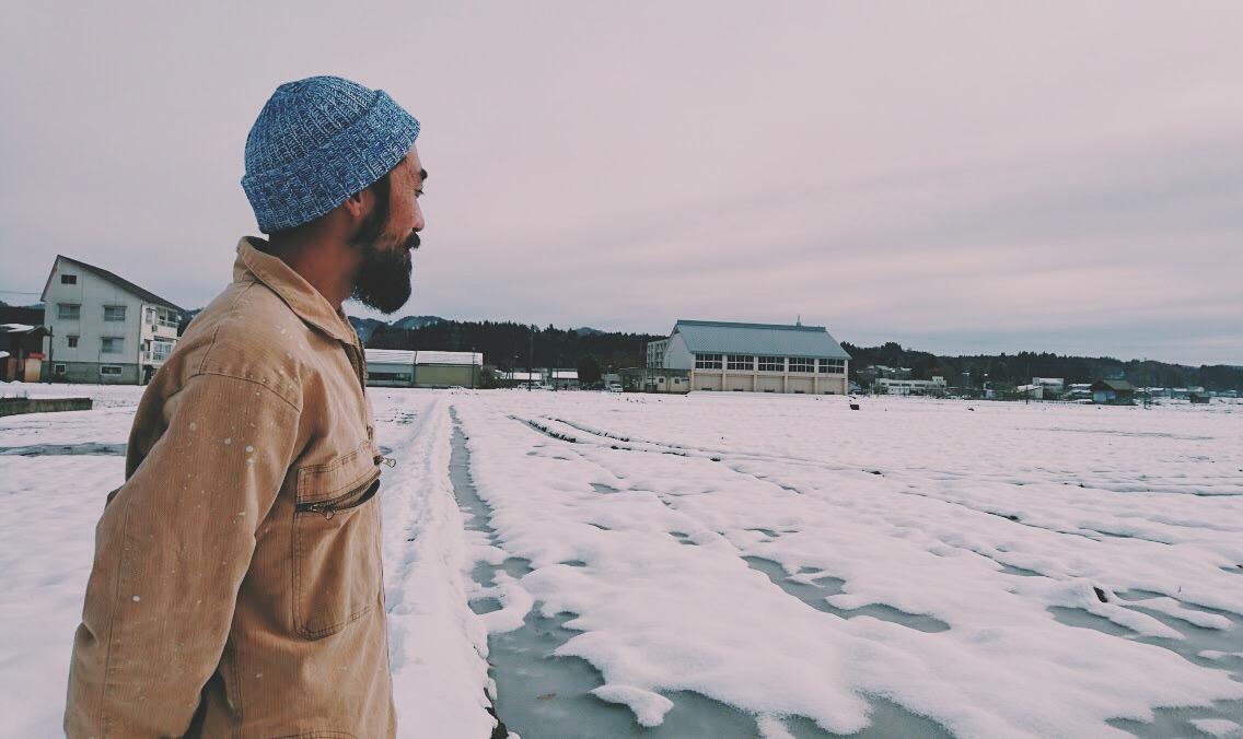 雪国の農家
