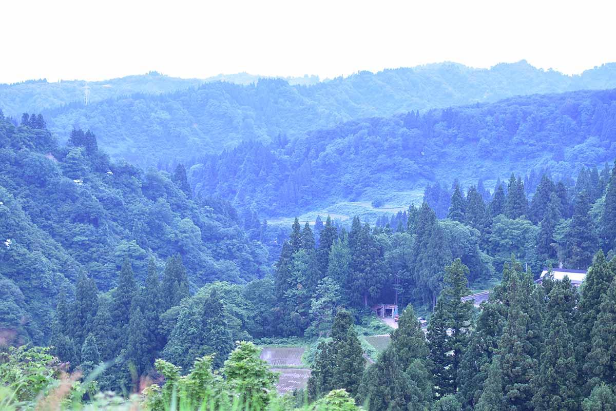 池谷集落の風景