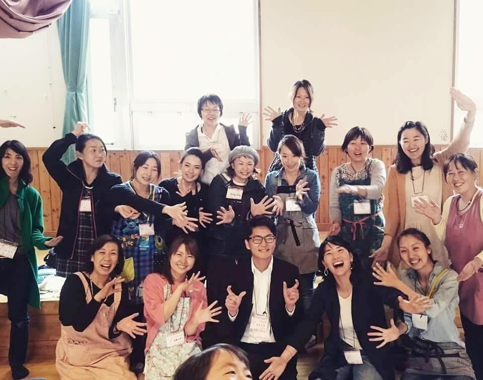 新海智子さんと川上村女性グループWAO!