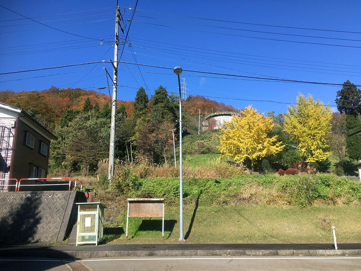 鹿渡新田集落